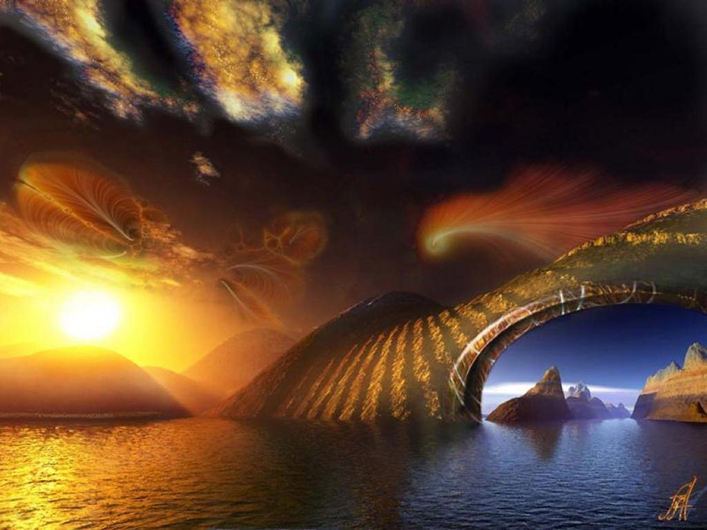 Fantasy Wallpaper: Strange Earth
