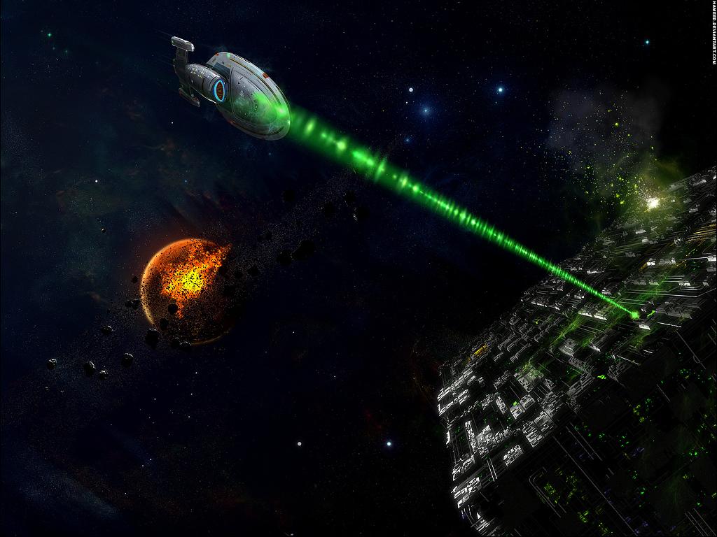 Fantasy Wallpaper: Strike the Borg