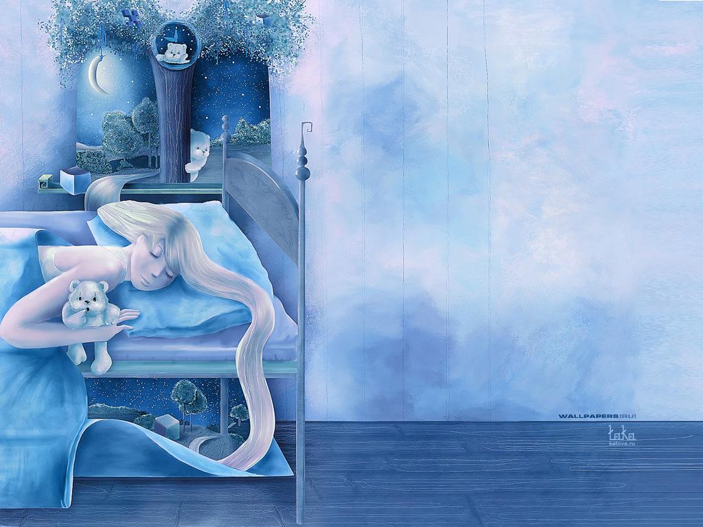 Fantasy Wallpaper: Sweet Dreams