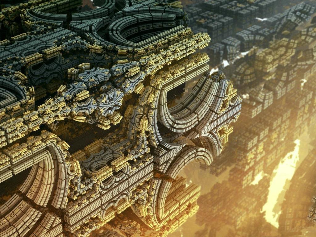 Fantasy Wallpaper: Synchroni-City