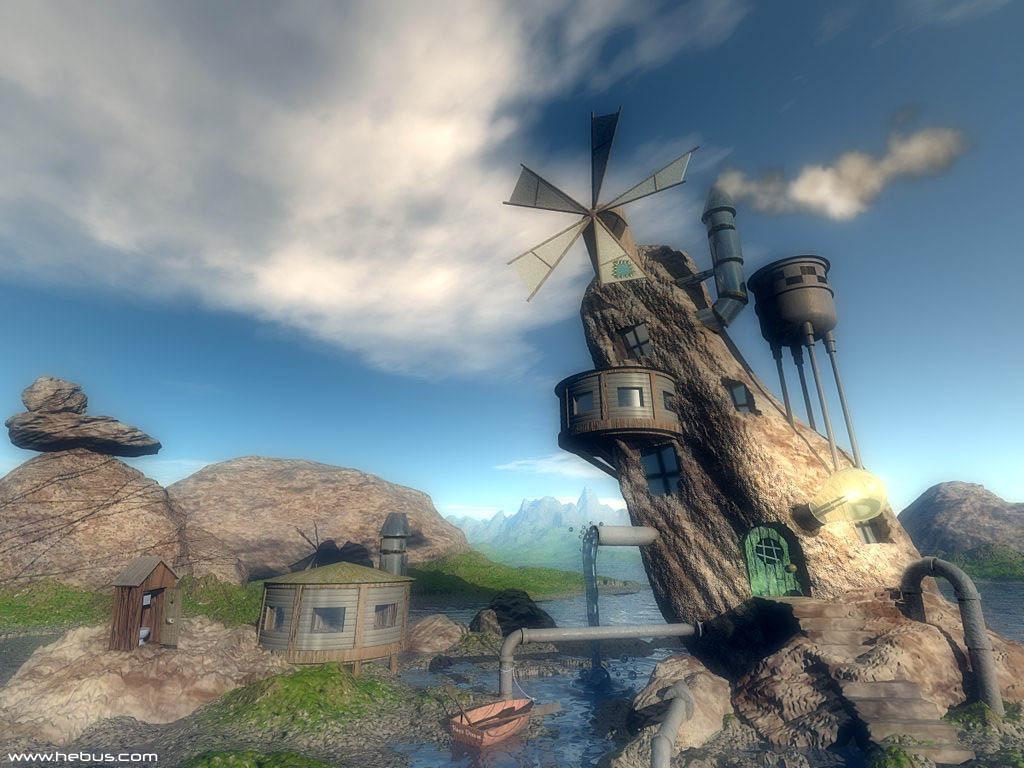 Fantasy Wallpaper: Synthesis World