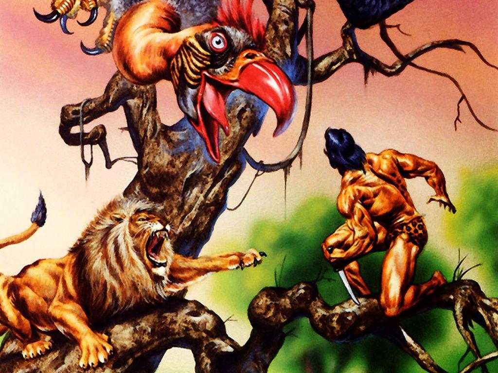 Fantasy Wallpaper: Tarzan