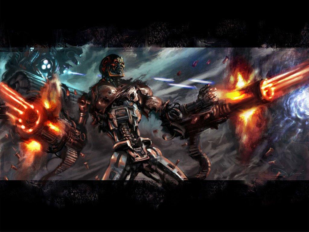 Fantasy Wallpaper: Terminator