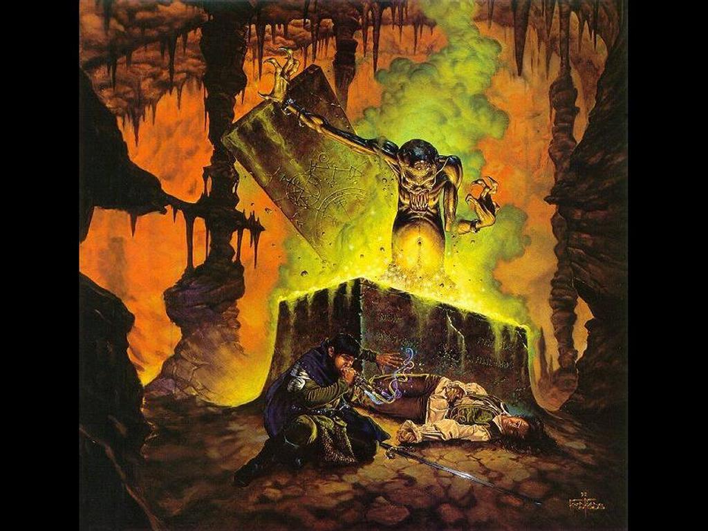 Fantasy Wallpaper: The Awakening