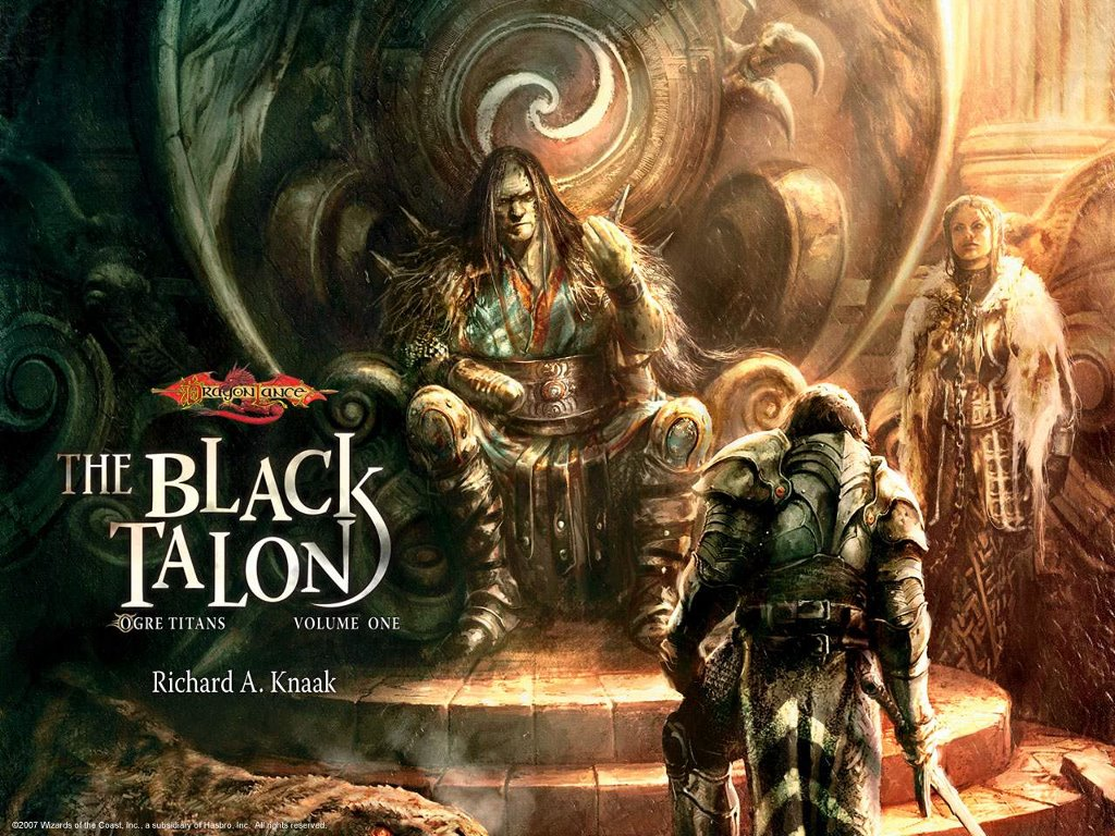 Fantasy Wallpaper: The Black Talon