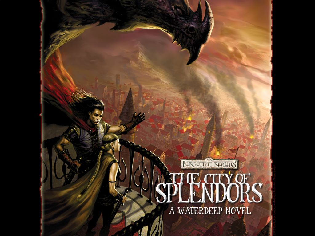 Fantasy Wallpaper: The City of Splendors