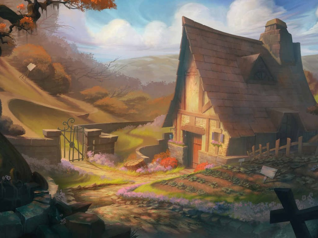 Fantasy Wallpaper: The Cottage