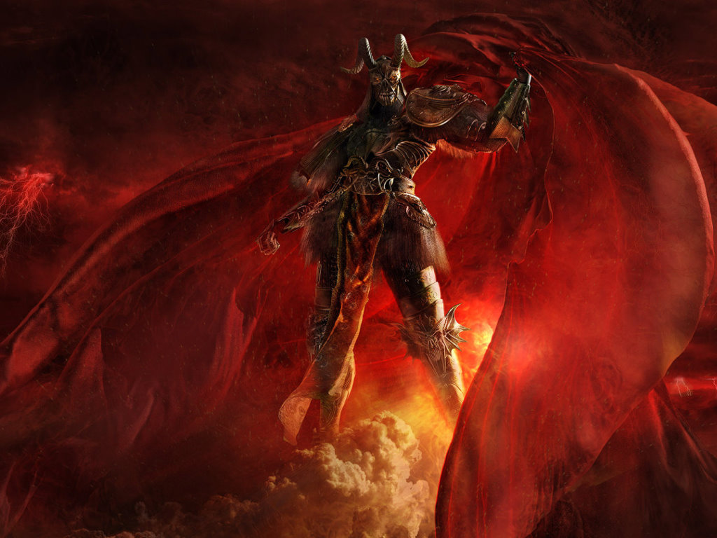 Fantasy Wallpaper: The Lord of Hell