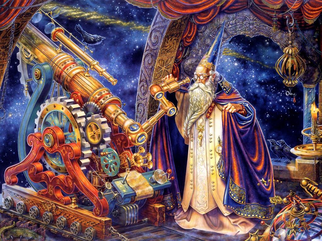 Fantasy Wallpaper: The Stargazer
