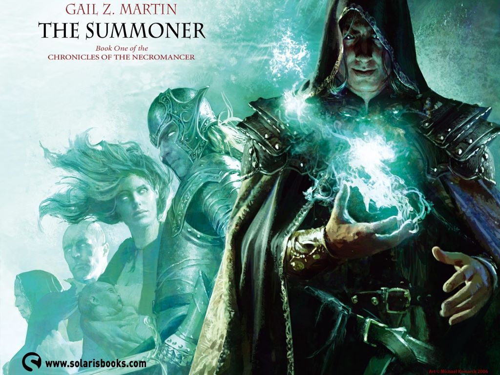 Fantasy Wallpaper: The Summoner