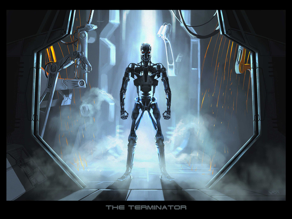 Fantasy Wallpaper: The Terminator - T-800