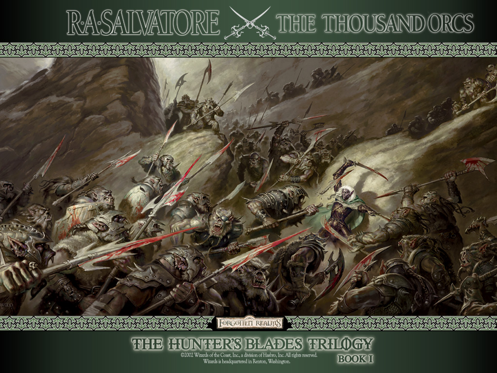 Papel de Parede Gratuito de Fantasia : Os Mil Orcs