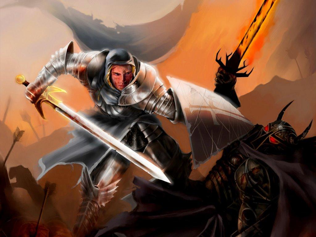 Papel de Parede Gratuito de Fantasia : Cavaleiro Templário