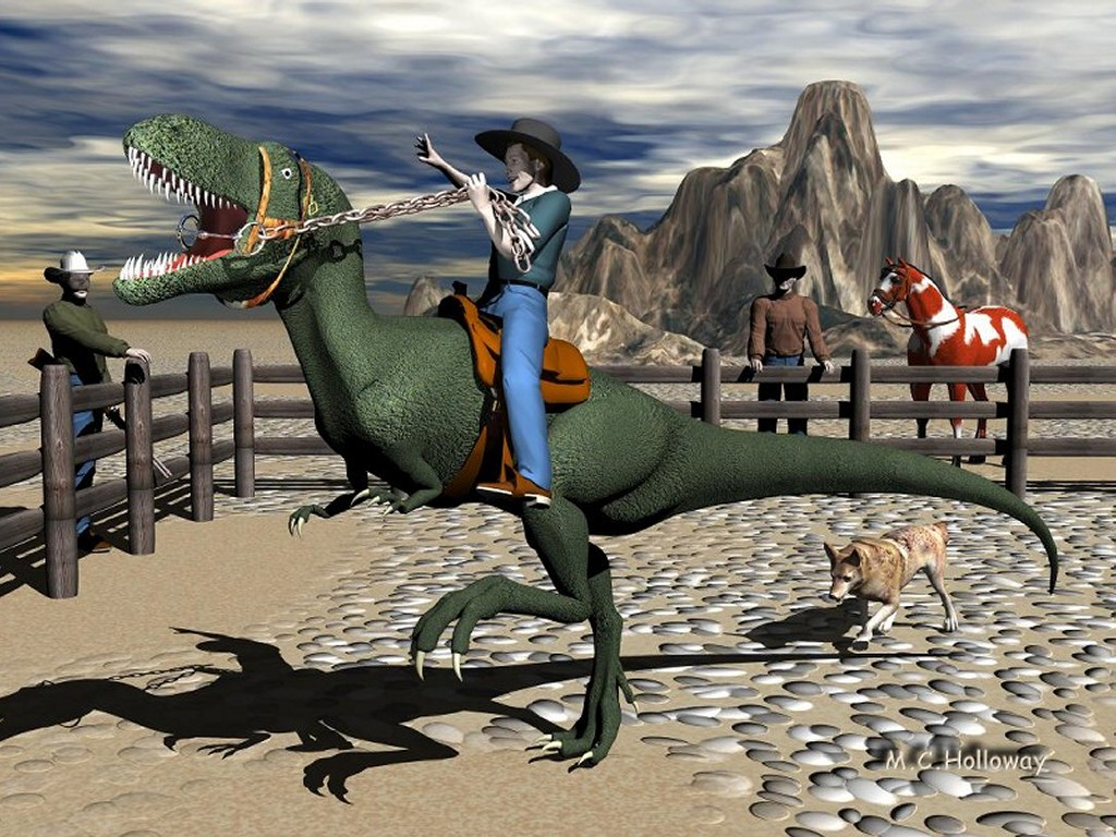 Fantasy Wallpaper: The Wild West by MC Holloway
