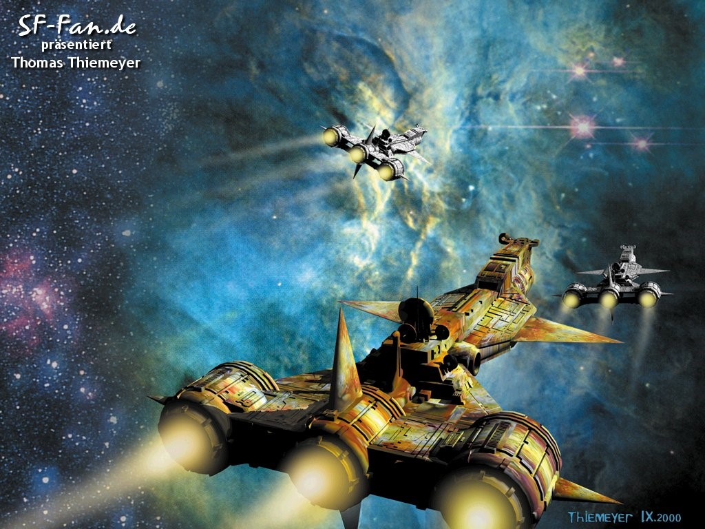 Fantasy Wallpaper: Thomas Thiemeyer - Deep Space