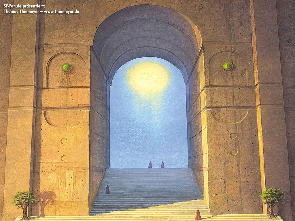 Fantasy Wallpaper: Thomas Thiemeyer - Gate