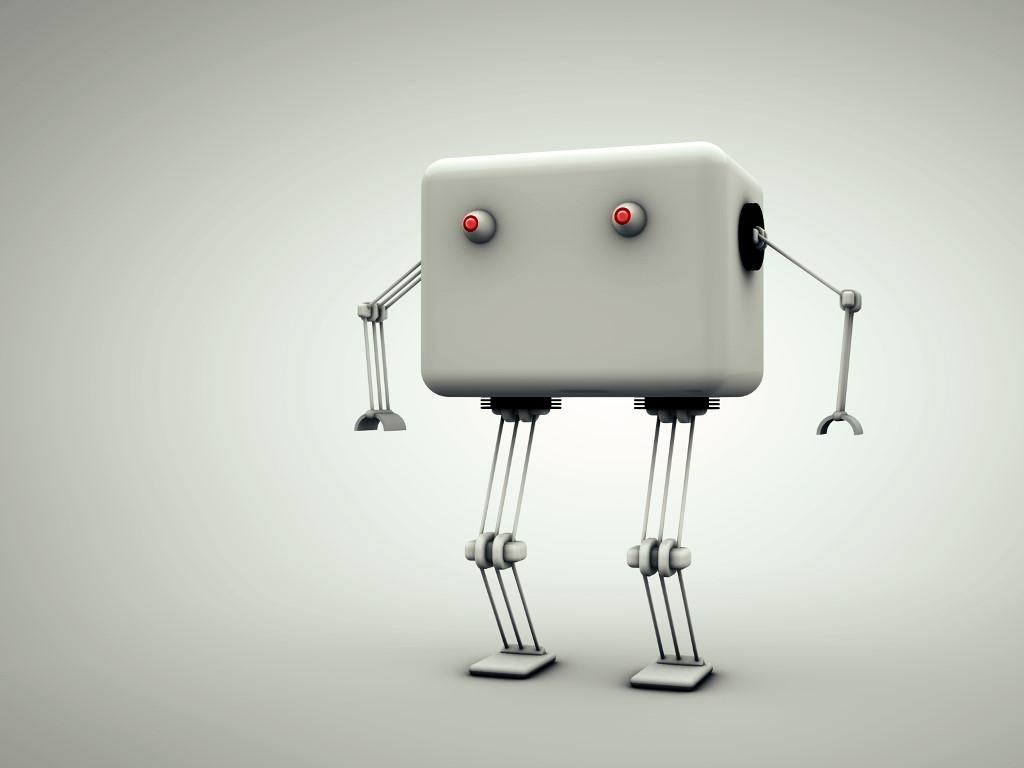 Fantasy Wallpaper: Tiny Robot