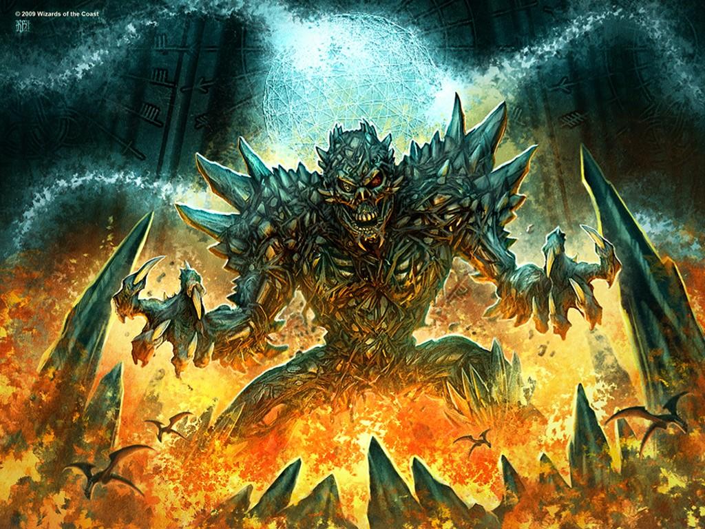 Fantasy Wallpaper: Tomb of Horrors - God Golem