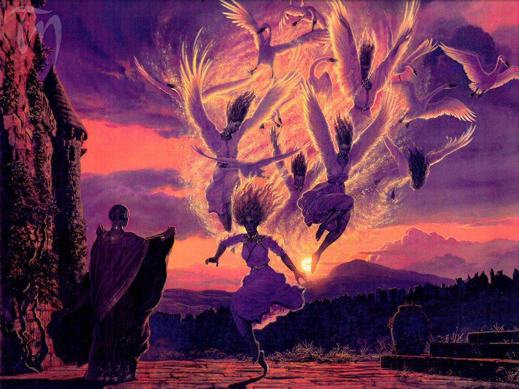 Fantasy Wallpaper: Transformation