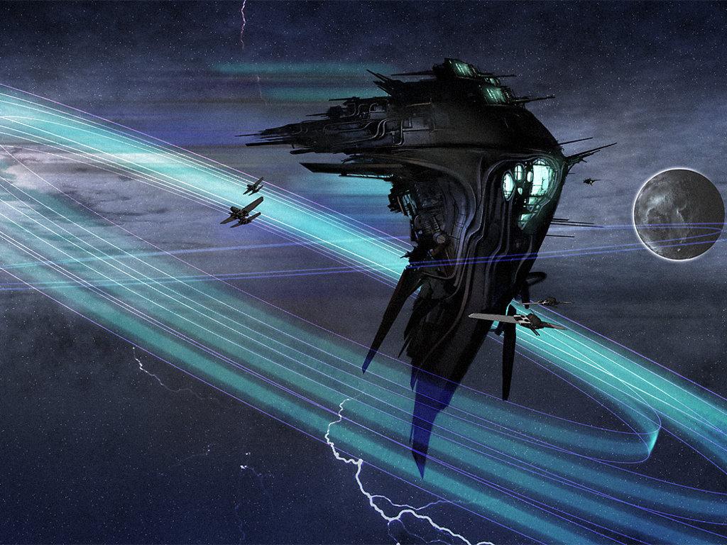Fantasy Wallpaper: Translight Jump