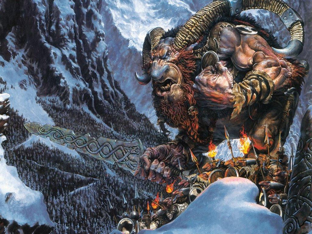 Fantasy Wallpaper: Troll