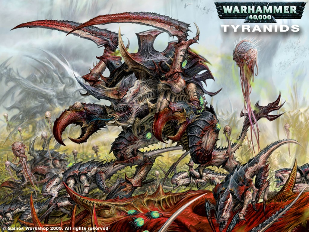 Fantasy Wallpaper: Tyranids