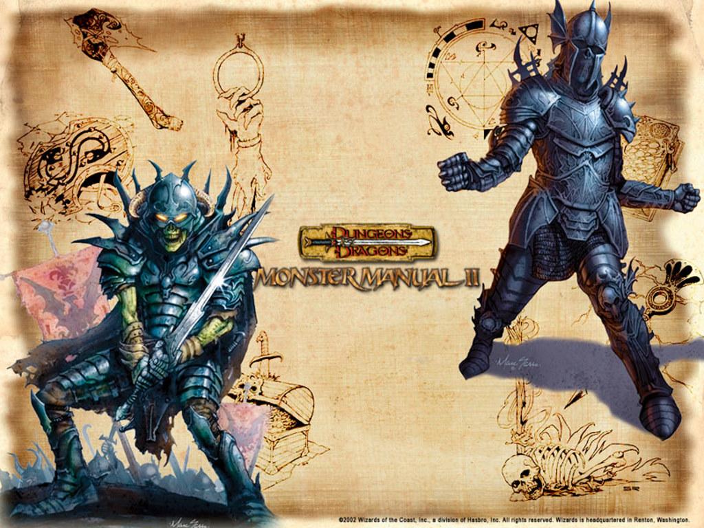 Fantasy Wallpaper: Undead Knights
