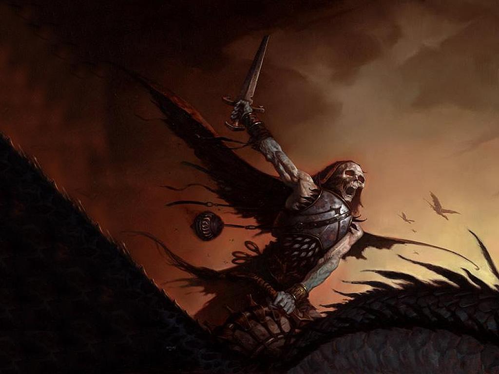Fantasy Wallpaper: Undead Rider
