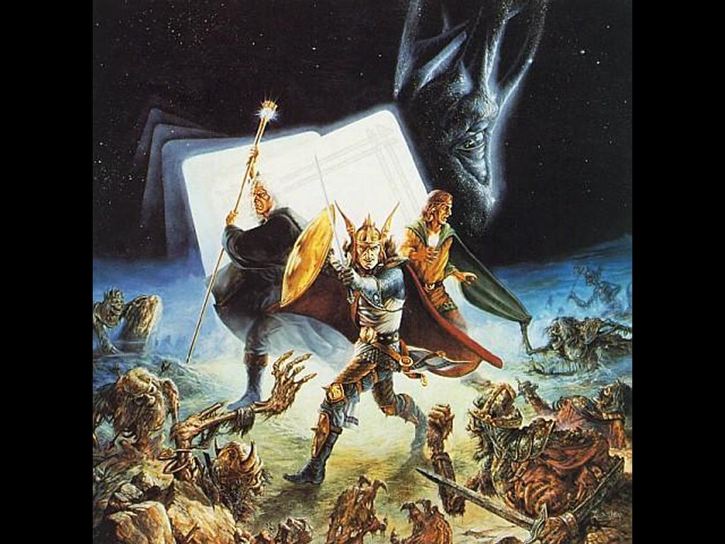 Fantasy Wallpaper: Undeads Strike