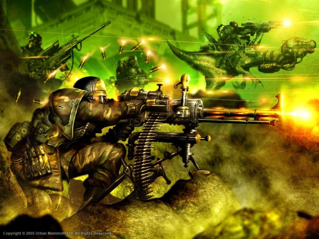Fantasy Wallpaper: Urban War
