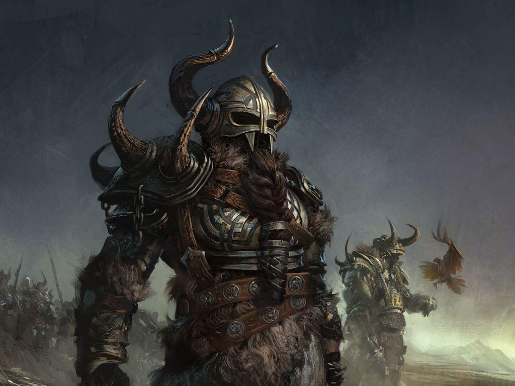 Fantasy Wallpaper: Viking Warriors