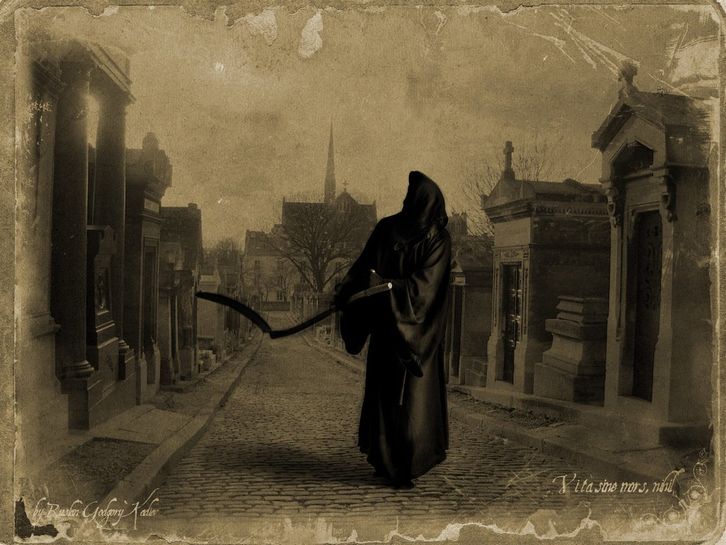 Fantasy Wallpaper: Vita Sine Mors Nihil