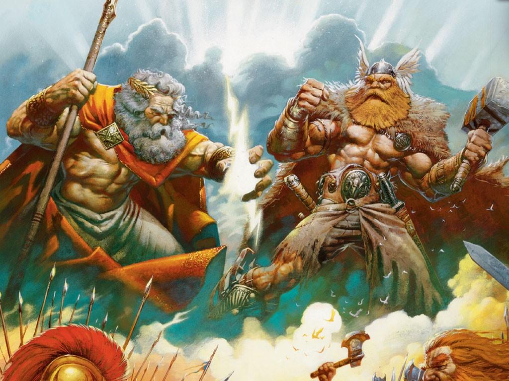 Fantasy Wallpaper: War Gods