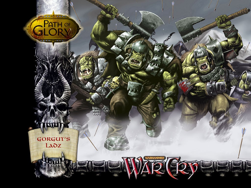 Fantasy Wallpaper: Warcry - Orcs