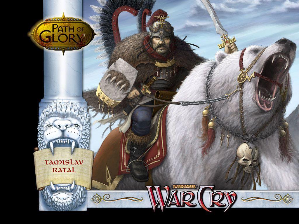 Fantasy Wallpaper: Warcry - Tamislav Ratal