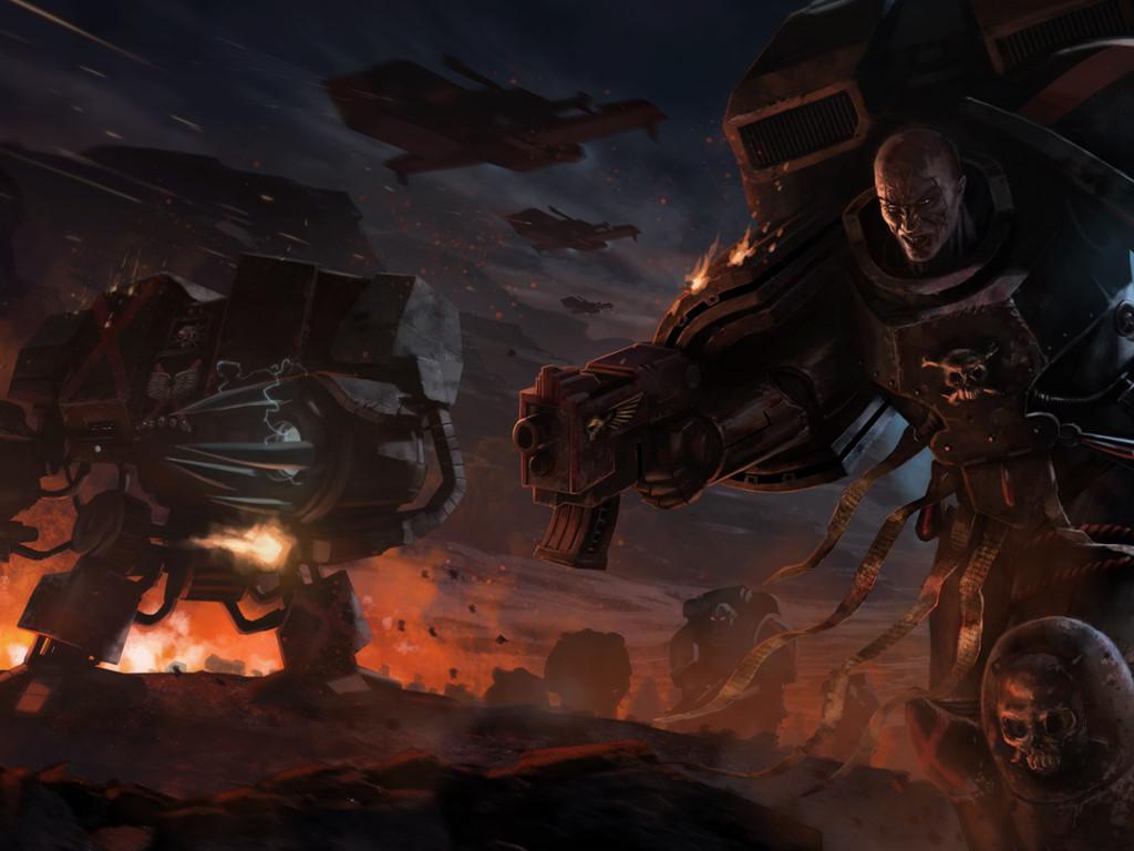 Fantasy Wallpaper: Warhammer 40000