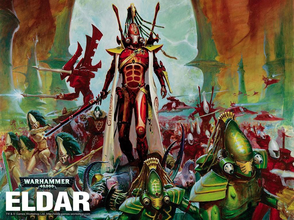 Fantasy Wallpaper: Warhammer 40000 - Eldar