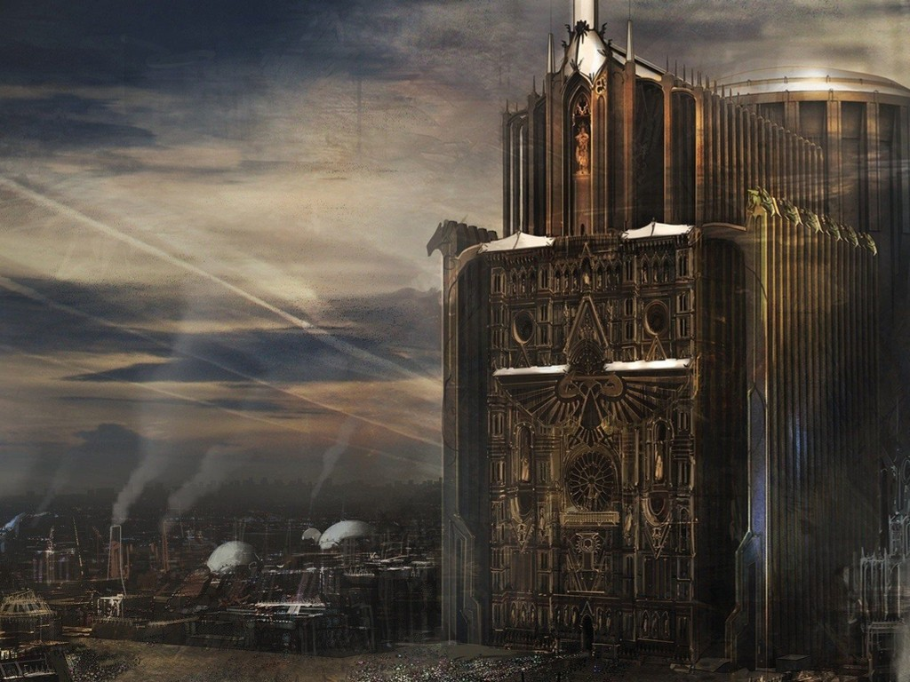 Fantasy Wallpaper: Warhammer 40000 - Imperium of Man