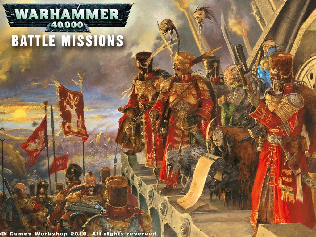 Fantasy Wallpaper: Warhammer 40K - Battle Missions