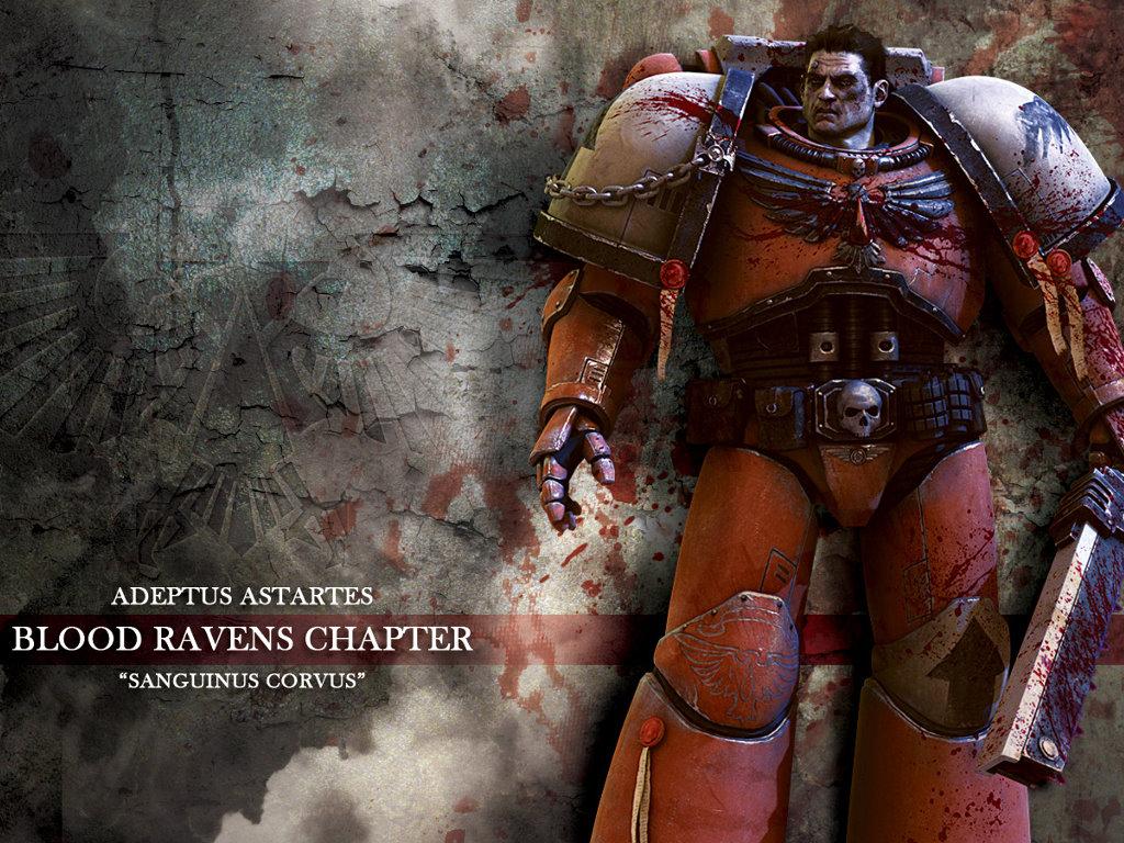 Fantasy Wallpaper: Warhammer 40K - Blood Ravens
