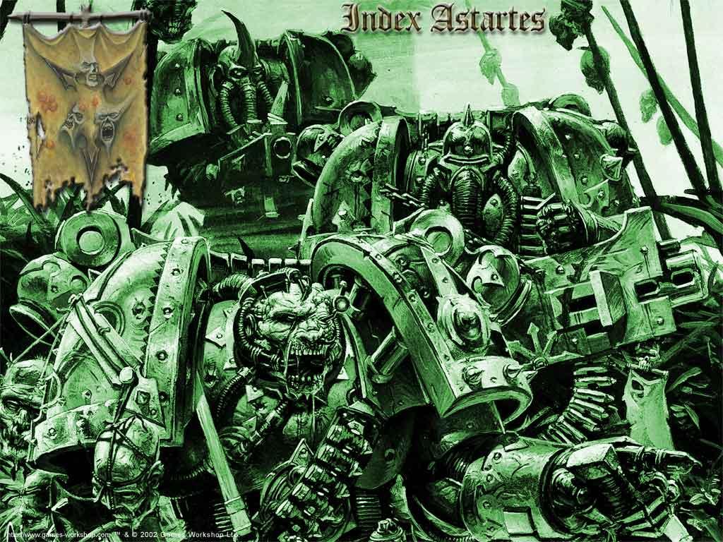 Fantasy Wallpaper: Warhammer 40K - Death Guard