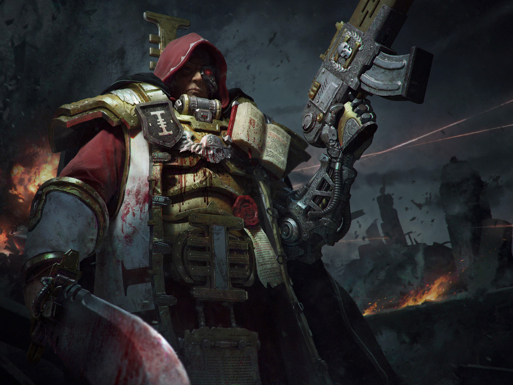 Fantasy Wallpaper: Warhammer 40K - Inquisitor