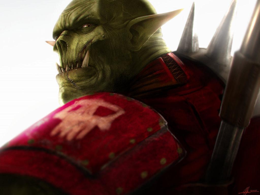 Fantasy Wallpaper: Warhammer 40K - Ork