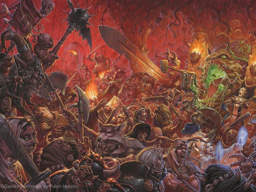 Fantasy Wallpaper: Warhammer - Battle