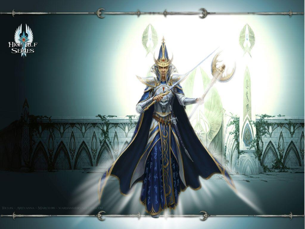 Fantasy Wallpaper: Warhammer - High Elf