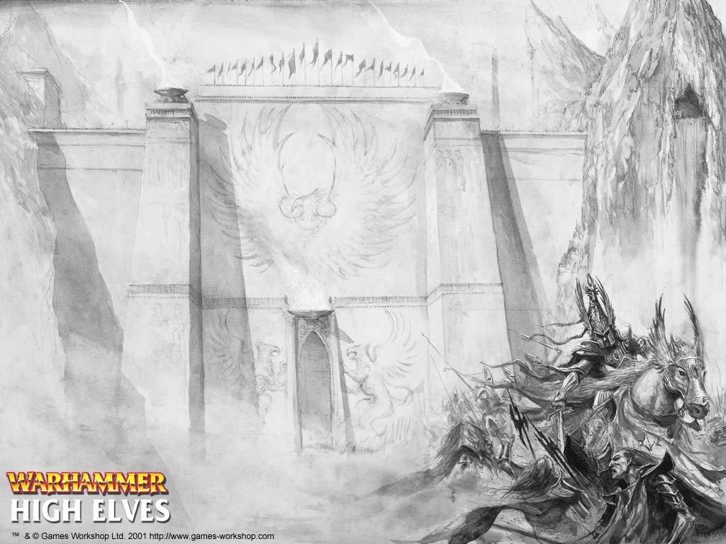 Fantasy Wallpaper: Warhammer - High Elves