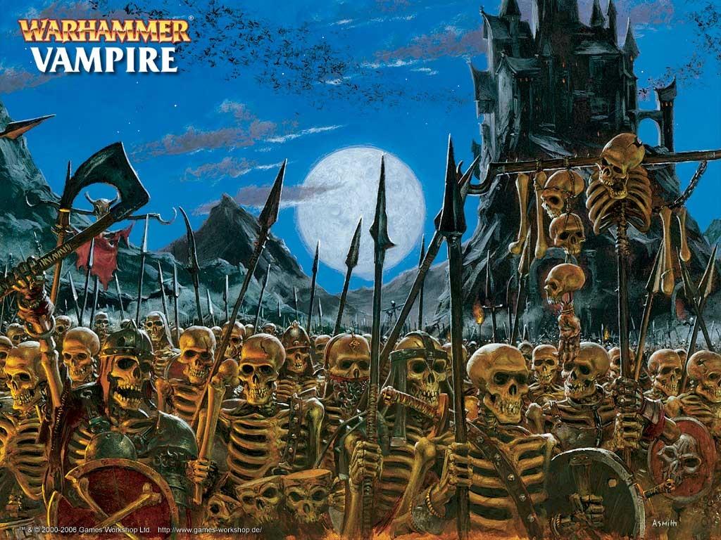 Fantasy Wallpaper: Warhammer - Legion of Skeletons