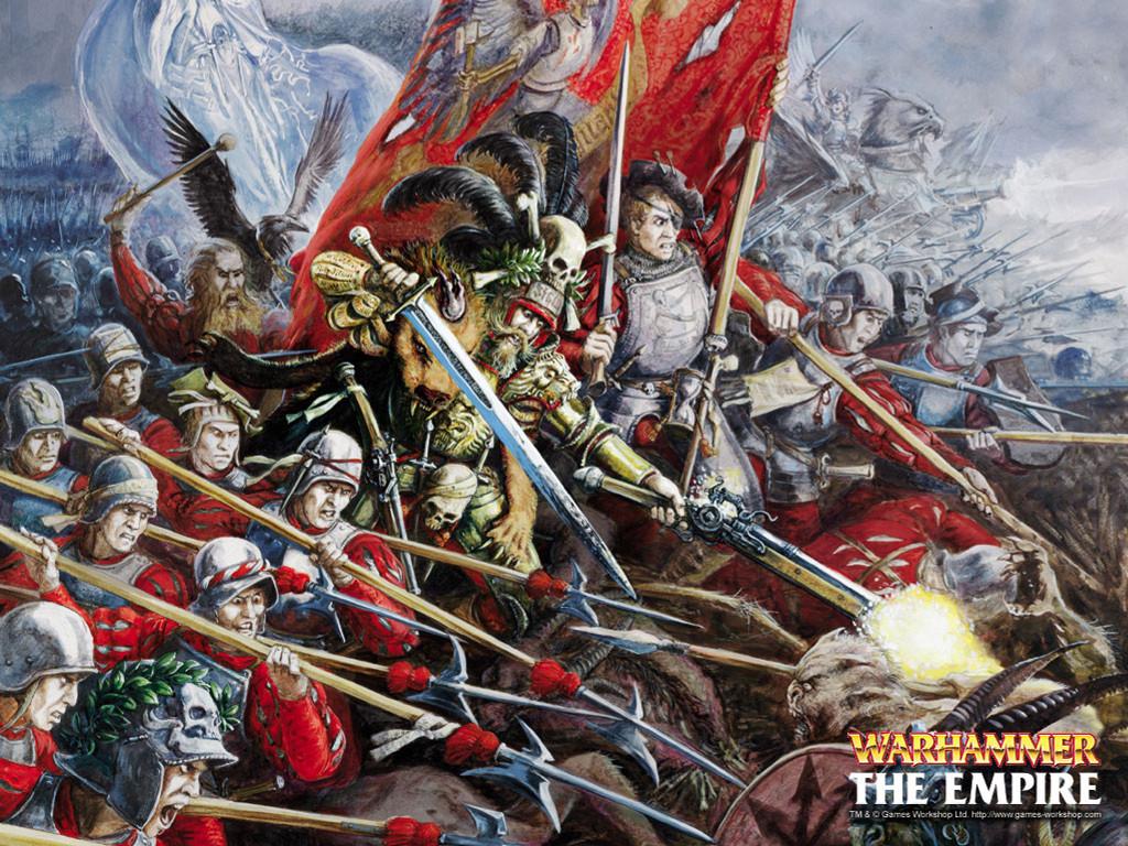 Fantasy Wallpaper: Warhammer - The Empire