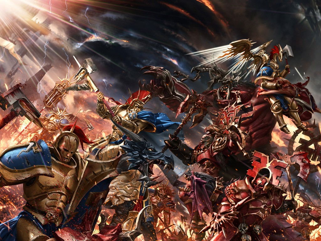 Fantasy Wallpaper: Warhammer - The Gates of Azyr