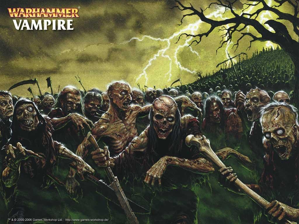 Fantasy Wallpaper: Warhammer - Zombies
